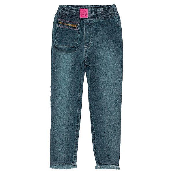 Calça Jeans infantil Momi com bolsinho de fora fashion