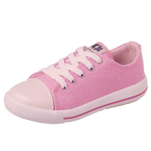 Tênis infantil feminino rosa 28 ao 36 Xuá Xuá