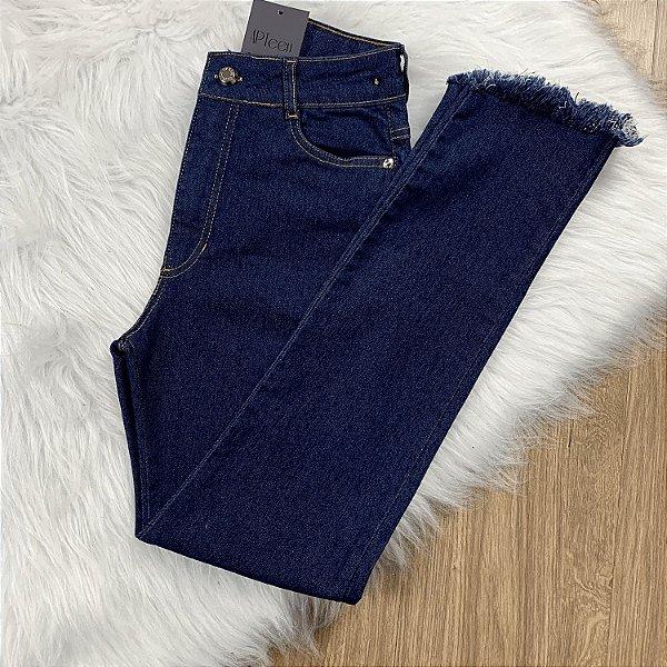 Calça jeans teen feminina skinny cintura alta Vanilla Cream