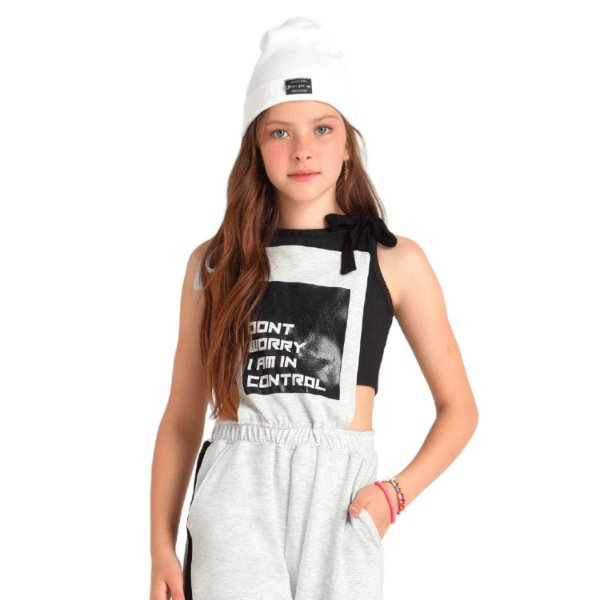 Touca teen tricot off white tumblr Vanilla Cream