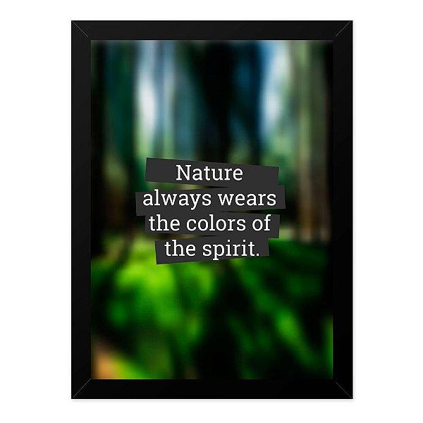 Quadro A4 Blur Nature