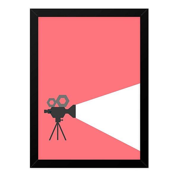 Quadro A4 Cinema Minimalista