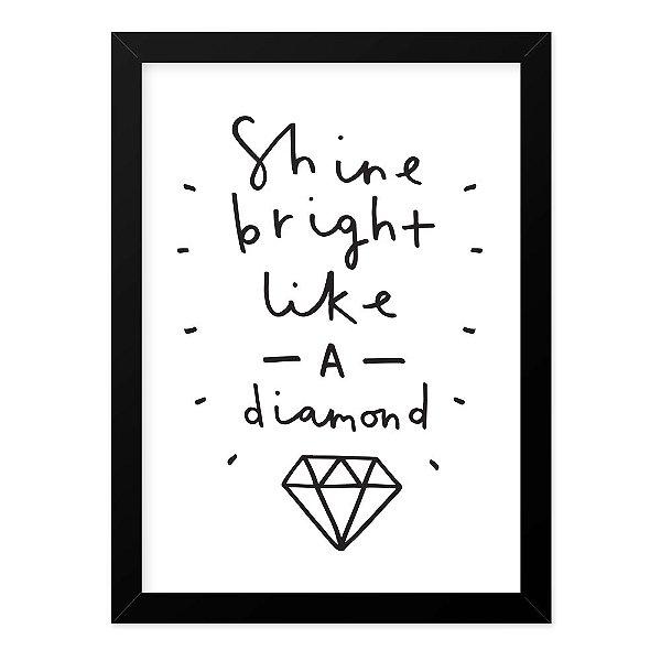 Quadro A4 Diamond