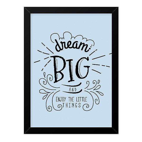 Quadro A4 Dream Big