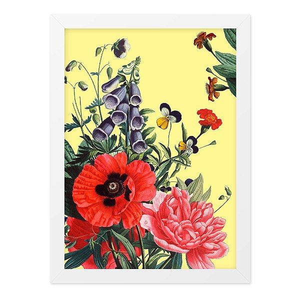 Quadro A4 Floral01