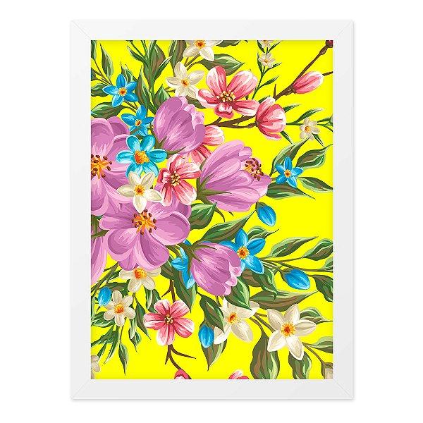 Quadro A4 Floral02