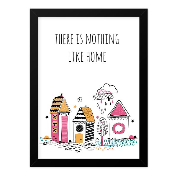 Quadro A4 Like Home