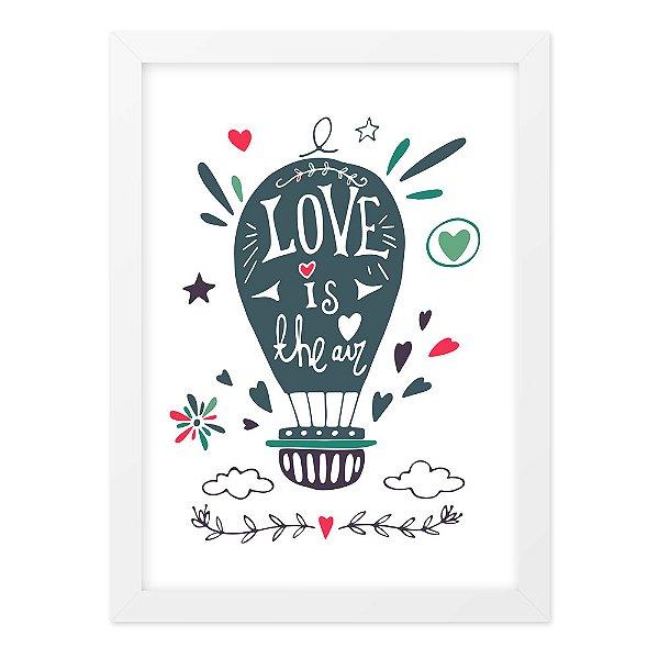 Quadro A4 Love Is In The Air