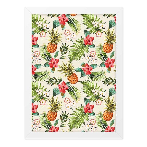 Quadro A4 Textura Tropical