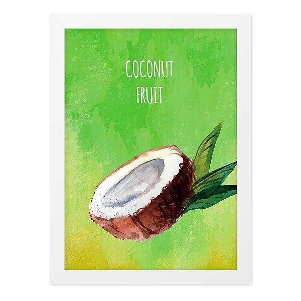 Quadro A4 Aquarela Coconut