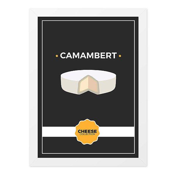 Quadro A4 Cheese Collection Camambert