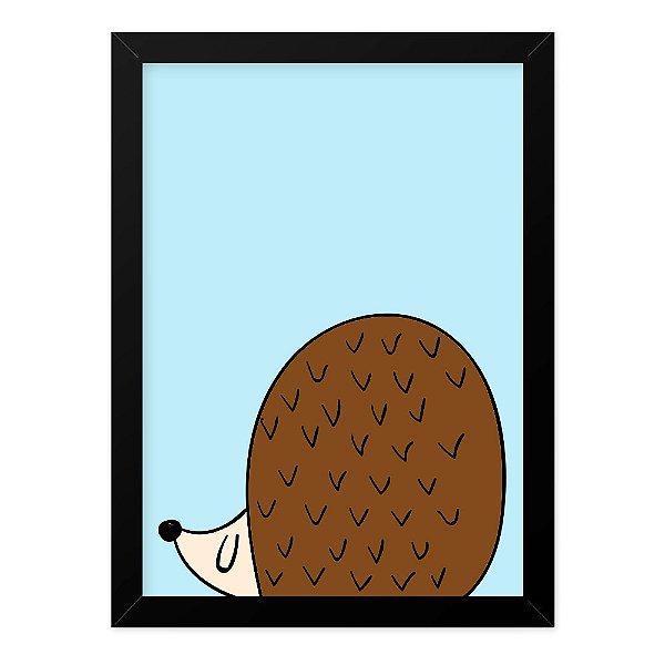 Quadro A4 Cool Animals Tatu