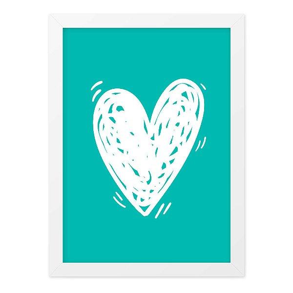 Quadro A4 Dual Heart