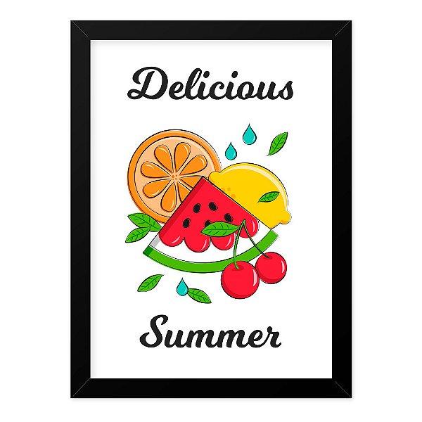 Quadro A4 Fruit Delicious