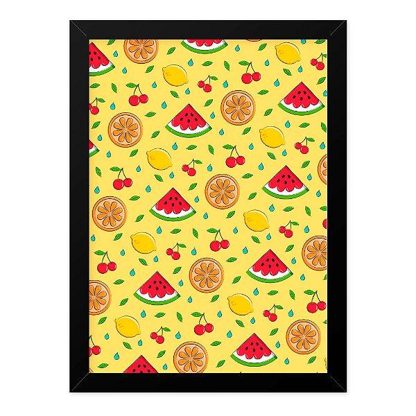 Quadro A4 Fruits Texture