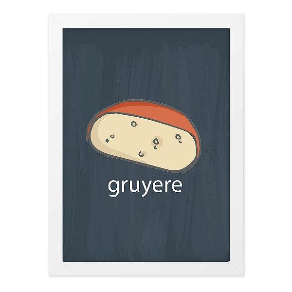Quadro A4 Lousa Cheese Gruyere
