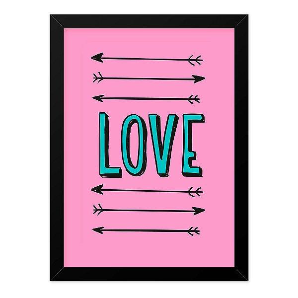 Quadro A4 Love Arrows