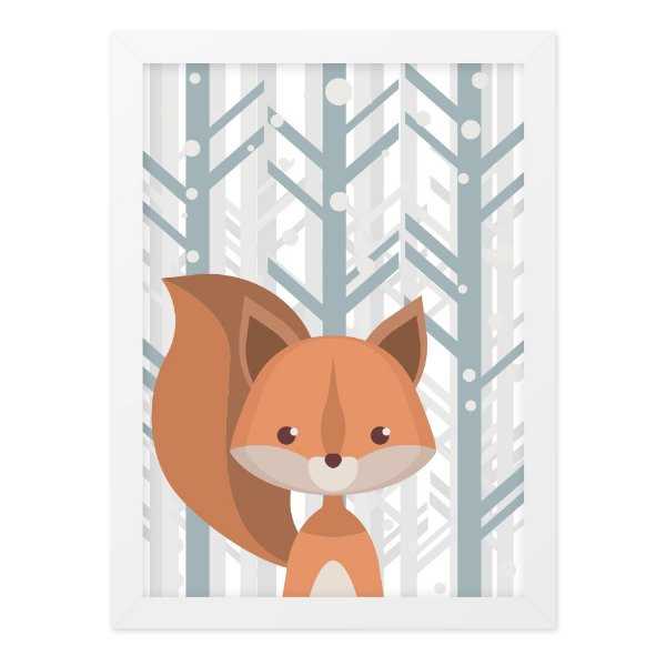 Quadro A4 Nice Little Fox