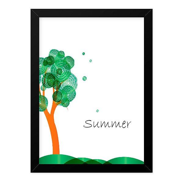 Quadro A4 Seasons Summer