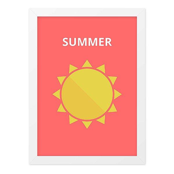 Quadro A4 Summer