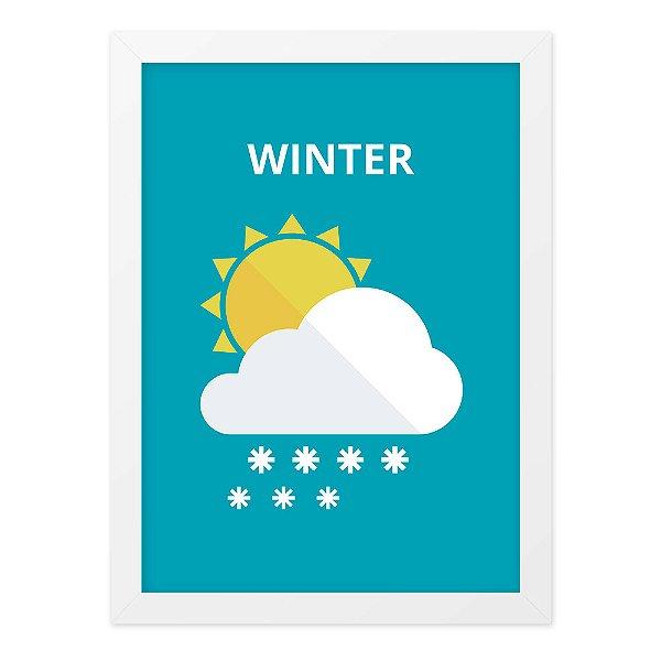 Quadro A4 Winter