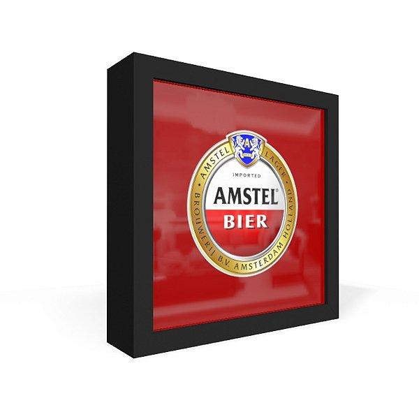 Quadro Caixa Frontal Amstel