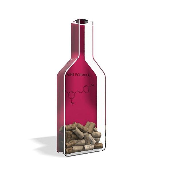 Porta Rolha de Vinho Garrafa Wine Formula