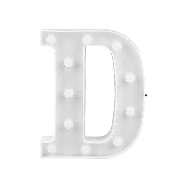 Letra Luminosa Led D