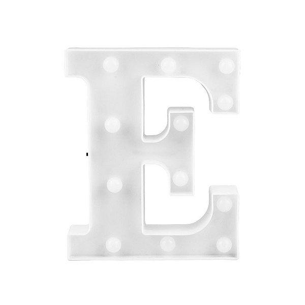 Letra Luminosa Led E