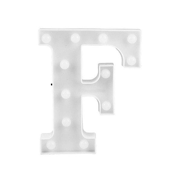 Letra Luminosa Led F