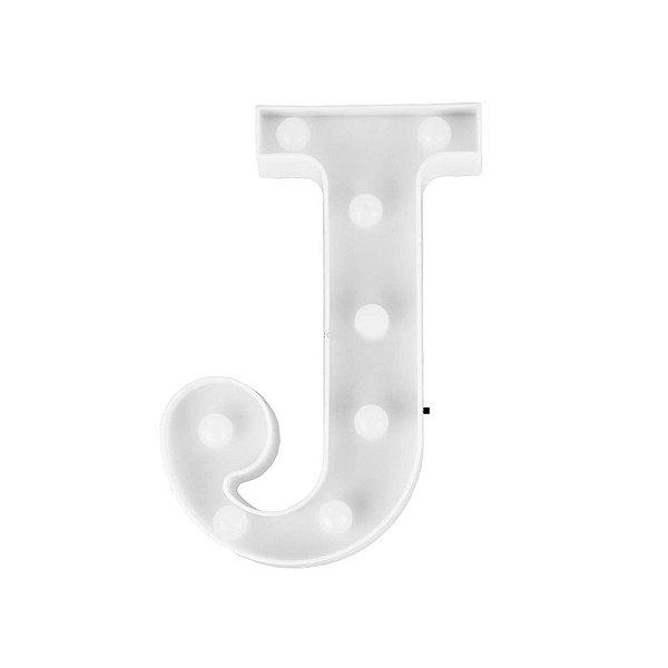 Letra Luminosa Led J