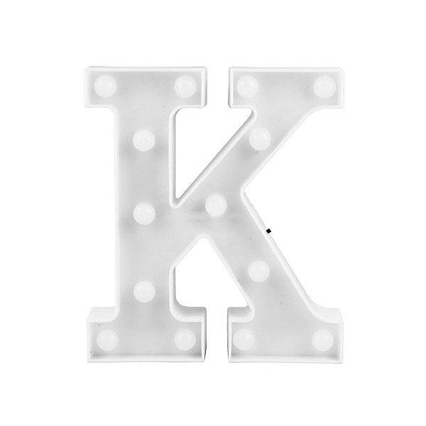 Letra Luminosa Led K
