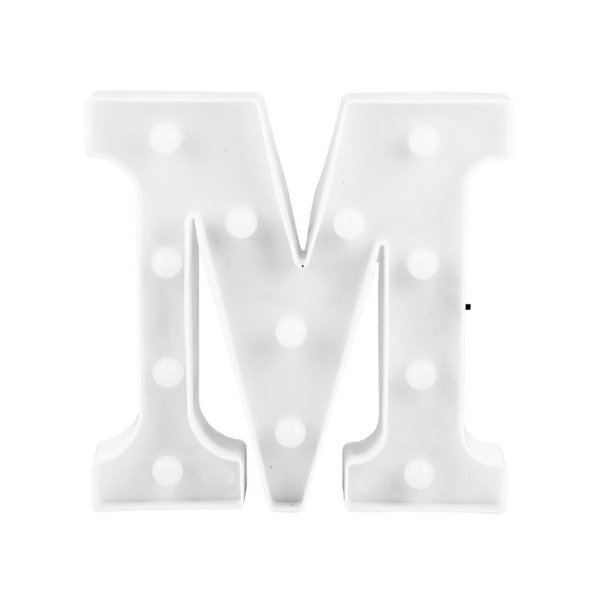 Letra Luminosa Led M