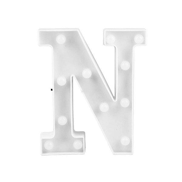 Letra Luminosa Led N