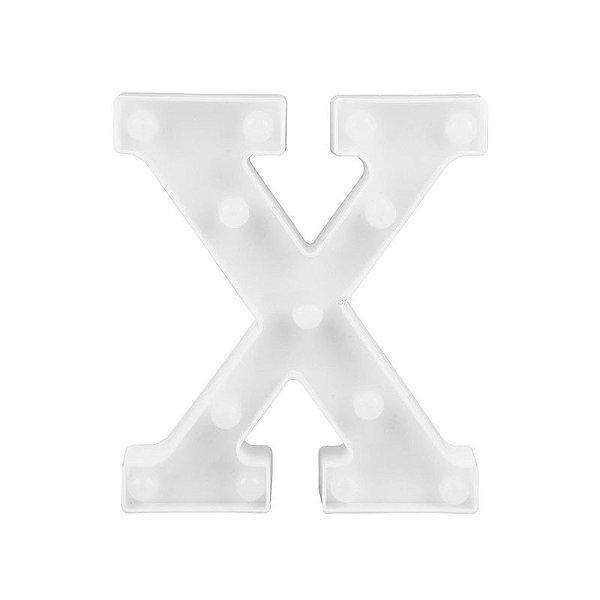 Letra Luminosa Led X