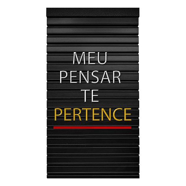 Placa de Letras Personalizável  Meupensar