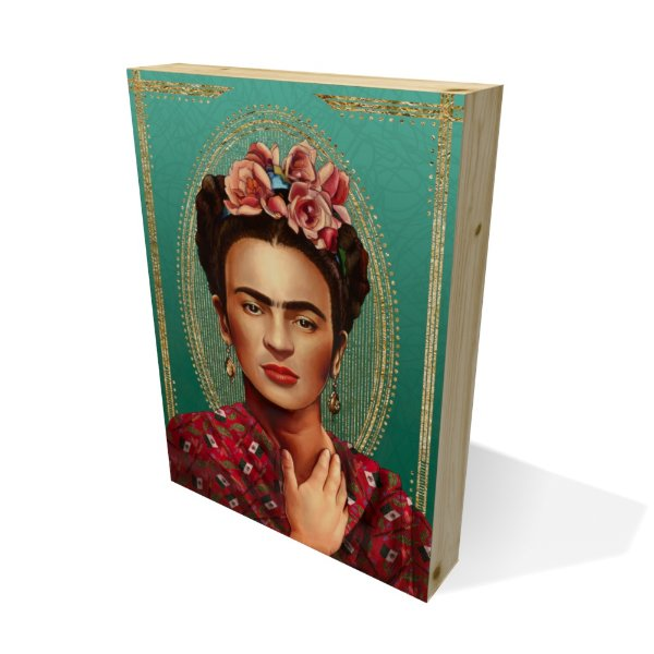 Quadro Pinus Retangular Frida Fancy