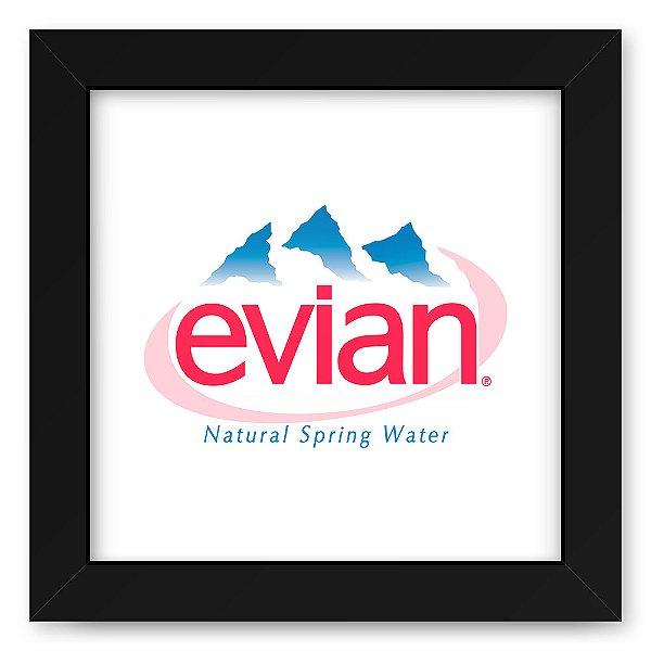 Quadro 20x20 Agua Evian