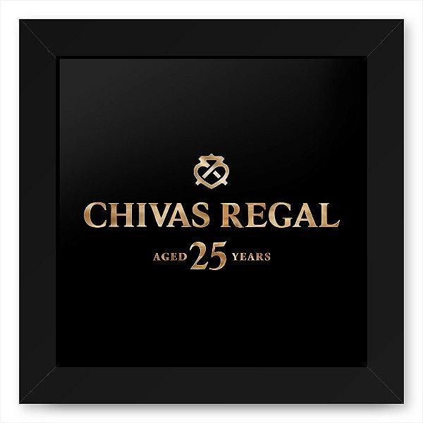 Quadro 20x20 Bebidas Wiskey Chivas