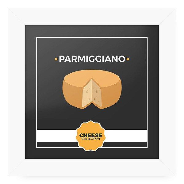 Quadro 20x20 Cheese Branco Parmiggiano