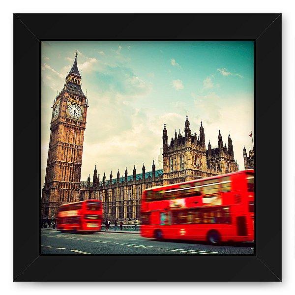 Quadro 20x20 Cidades Londres
