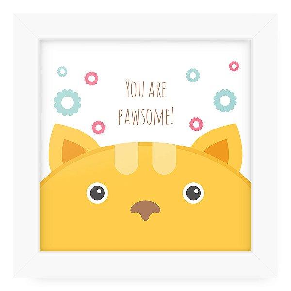 Quadro 20x20 Cute Animals Cat2