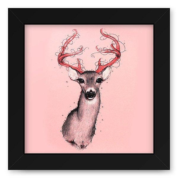 Quadro 20x20 Deer Pink