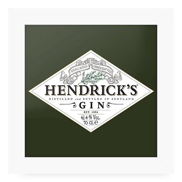 Quadro 20x20 Gin Hendricks