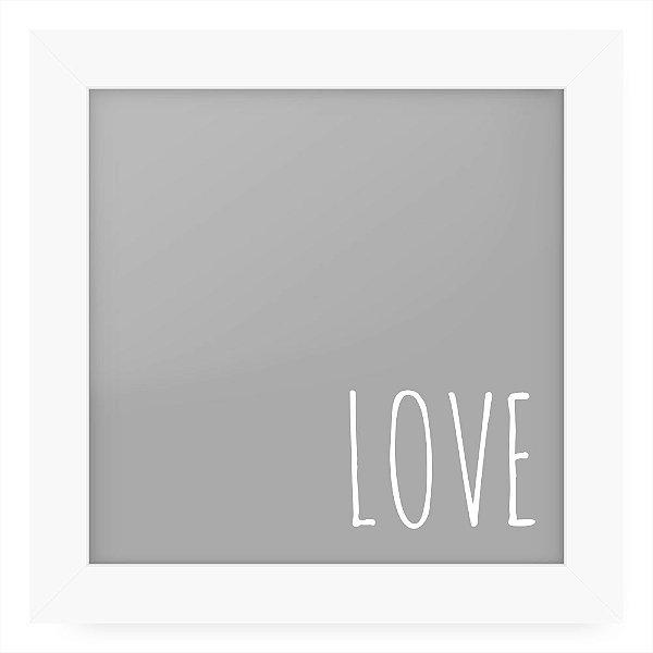 Quadro 20x20 Greys Love