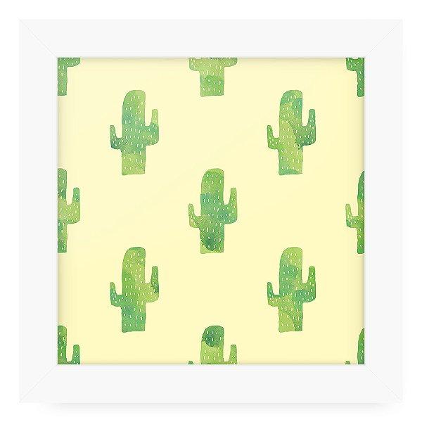 Quadro 20x20 Textura Cactus