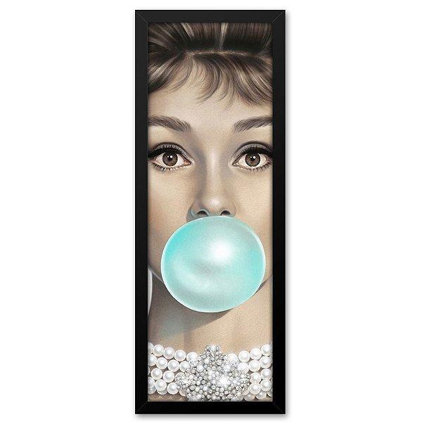 Quadro 60x20 Audrey Hepburn