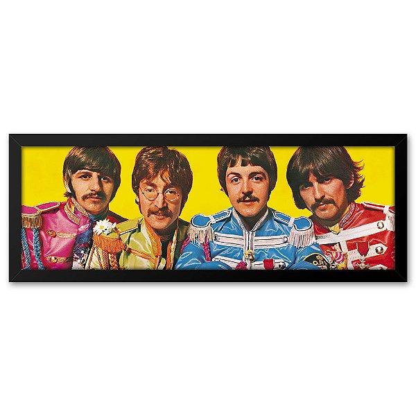 Quadro 60x20 Beatles Vintage