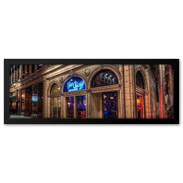 Quadro 60x20 Bar em Chicago