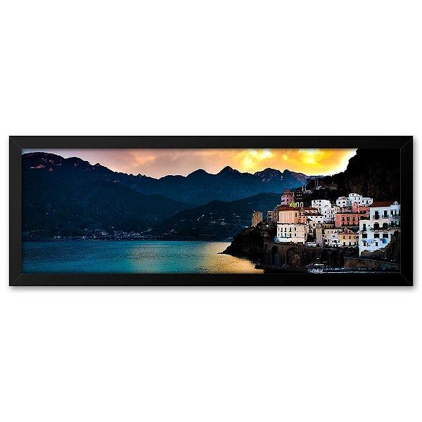 Quadro 60x20 Costa Amalfitana